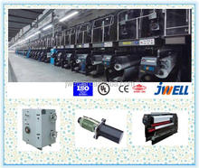 JWELL - PP Baler Twine Production Line PP Fibrillated Twine Extruder Machine