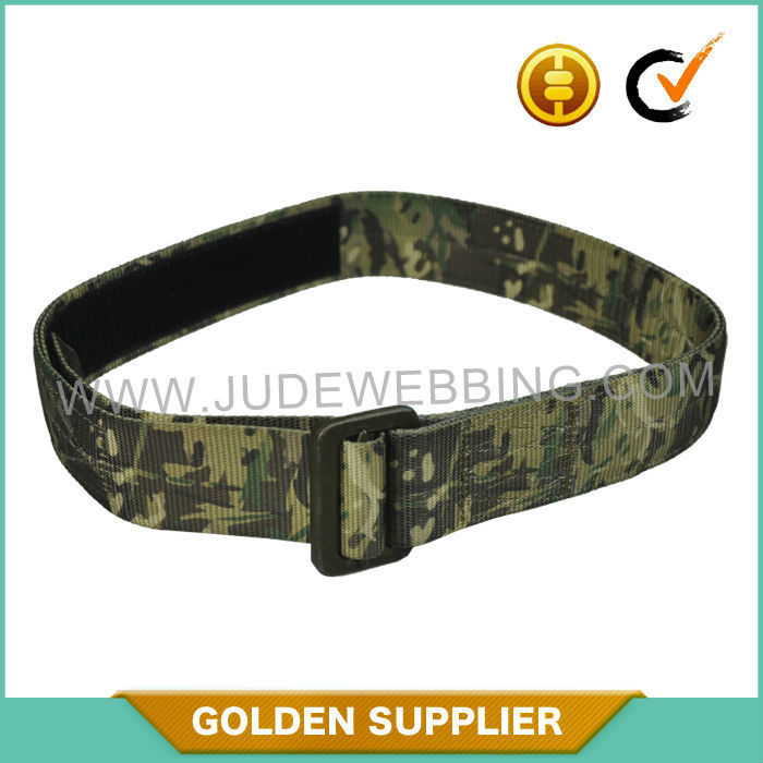 Custom Nylon Tactical Military Belt with camo print