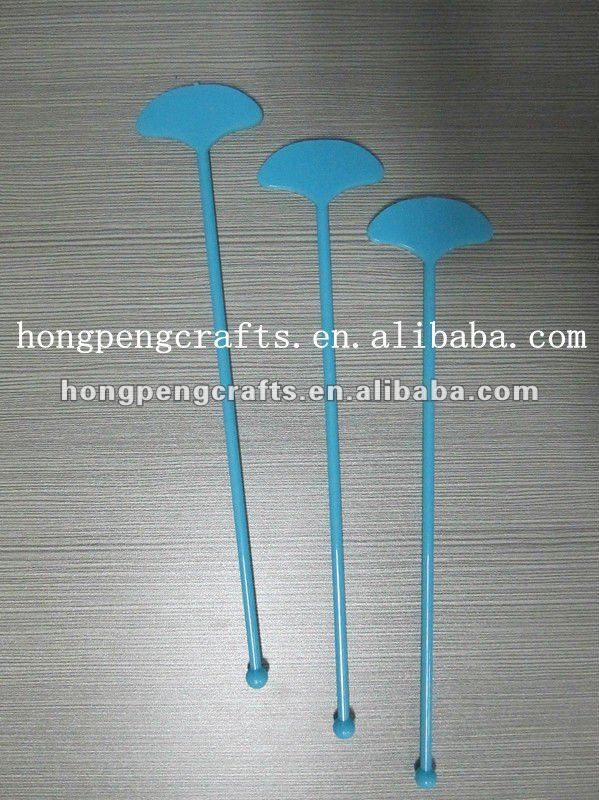 Fan Shaped plastic swizzle stick