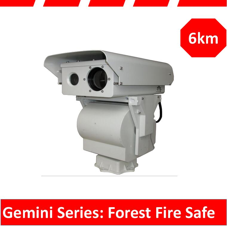 forest fire safe thermal imaging camera 1-14km long range detection night vision