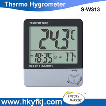 Station Weather Electronic and Digital Thermometer and Hygrometer, temperature measurement and humidity measurement(S-WS13)