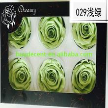 New brand 2017 ladies gift preserved roses natural fresh rose real touch 5-6cm With Good After-sale Service