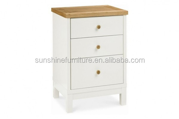 modern bedroom furniture one drawer/two drawers/three drawers small wooden bedside tables