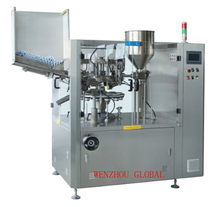High speed fully automatic soft plastic tube filling sealing machine