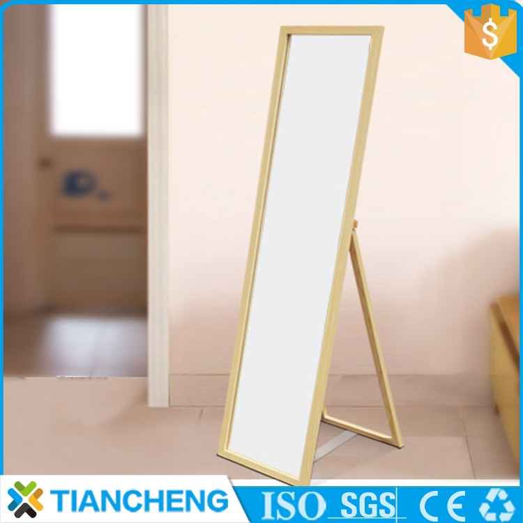 Wooden frame large mirror frame in China