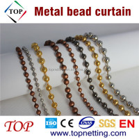 Partition hanging bead room divider/Metal bead curtain
