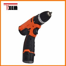 12V 21mm Cordless Driver Drill Kit, with 2pcs Batteries & 1pcs Charger, Cordless Screw Driver-TX-DZ128SS