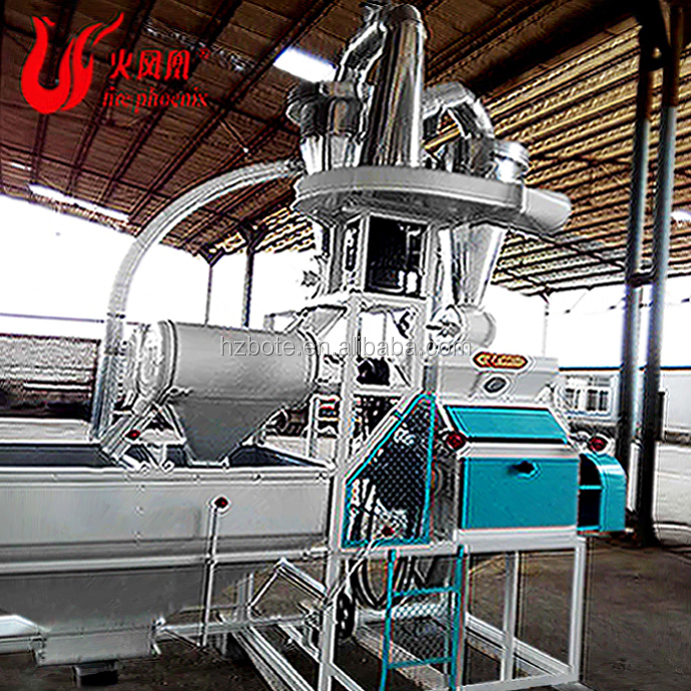 2018 Best Sale Maize Grain Rice Feed Rubber Two Roller End Mill Machine
