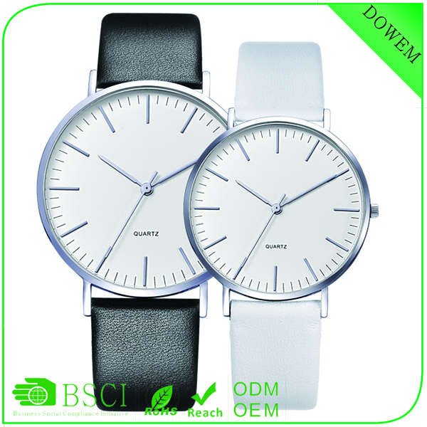 Factory price custom made IPS black matt strap couple bolun watch