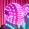Unisex Super Cool Motorcycle Stage Performance Led Light Up Hat Caps, Led Helmet