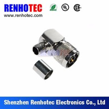 wholesale price 90 degree n male coax connector electrical wire connector