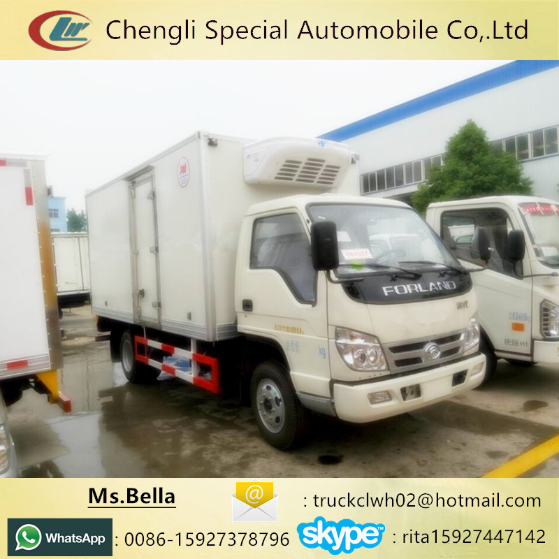 Meat Transportation FOTON Freezer Truck,Refrigerated Truck Insulated Panel