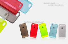Slim Fit Flexible TPU Rubber Skin Case For iPhone 5 5S