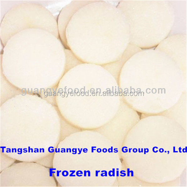 frozen food vegetable types of white radish