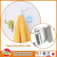 self adhesive plastic decorative coat hooks