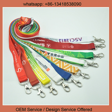 Polyester Lanyards with standard J hook 2.0cm x 90cm with free shipping by DHL