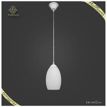 Fashion white glass pendant lights for dining room Hotel Kitchen pendant lighting