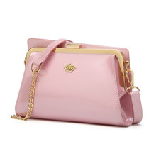 Hot new products 2017 handbag metal hardware accessory trendy crossbody shoulder bag plute 1252