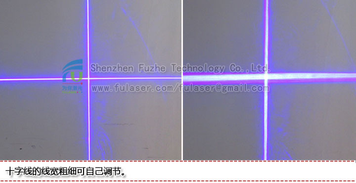 FU450AC1500-GD22 450nm 1500mW blue cross hair laser, blue cross laser, cross lazer blue, cross lazer line