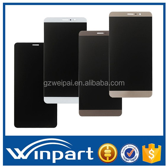 [win part]China hot sell cell phone part for Huawei Mate 9 LCD Touch Screen With Digitizer Complete Replacement black white gold