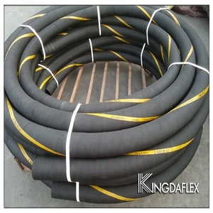 3 Inch Fabric Reinforced Flexible Chemical Rubber Hose 5bar