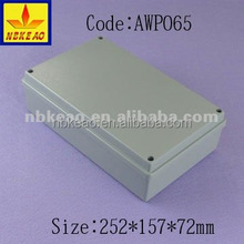 IP65 project aluminium enclosure box case,electronic waterproof aluminium PCB enclosure housing Custom aluminium enclosure box