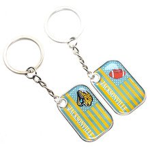 new custom promotion cheap all 32 American football teams NFL Jacksonville Jaguars keychain