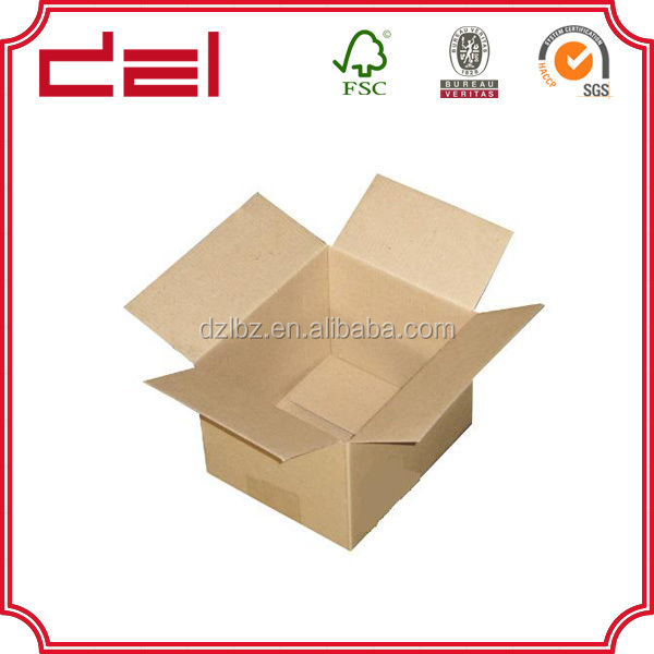 Large strong waxed corrugated cheap fruit carton packaging box