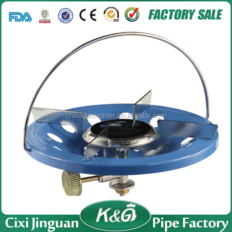 Supply Directly Nigeria Tanzania Cheap indian burner LPG gas stove price, good quality for camping