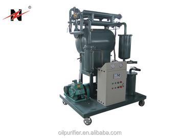ZN high vacuum Oil Filtration/Oil Purification/Oil Recycling for Waste Insulating Oil