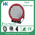WEIKEN 99w led work light off road auto kit CE approved round red waterproof car lamps