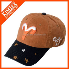 Fashion baseball caps with twelve constellations---Aries