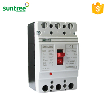 MCCB Moulded Case Circuit Breaker SM1 Single Phase 250A MCCB