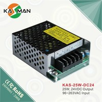 Metal case single output voltage ac 110v to dc power supply 12v 50w