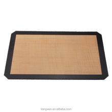 FDA approved BPA free non stick reusable customized silicon baking mat