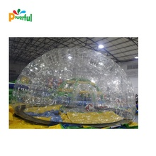 Best PVC outdoor inflatable transparent bubble tent ,  inflatable camping tent , inflatable dome tent for event