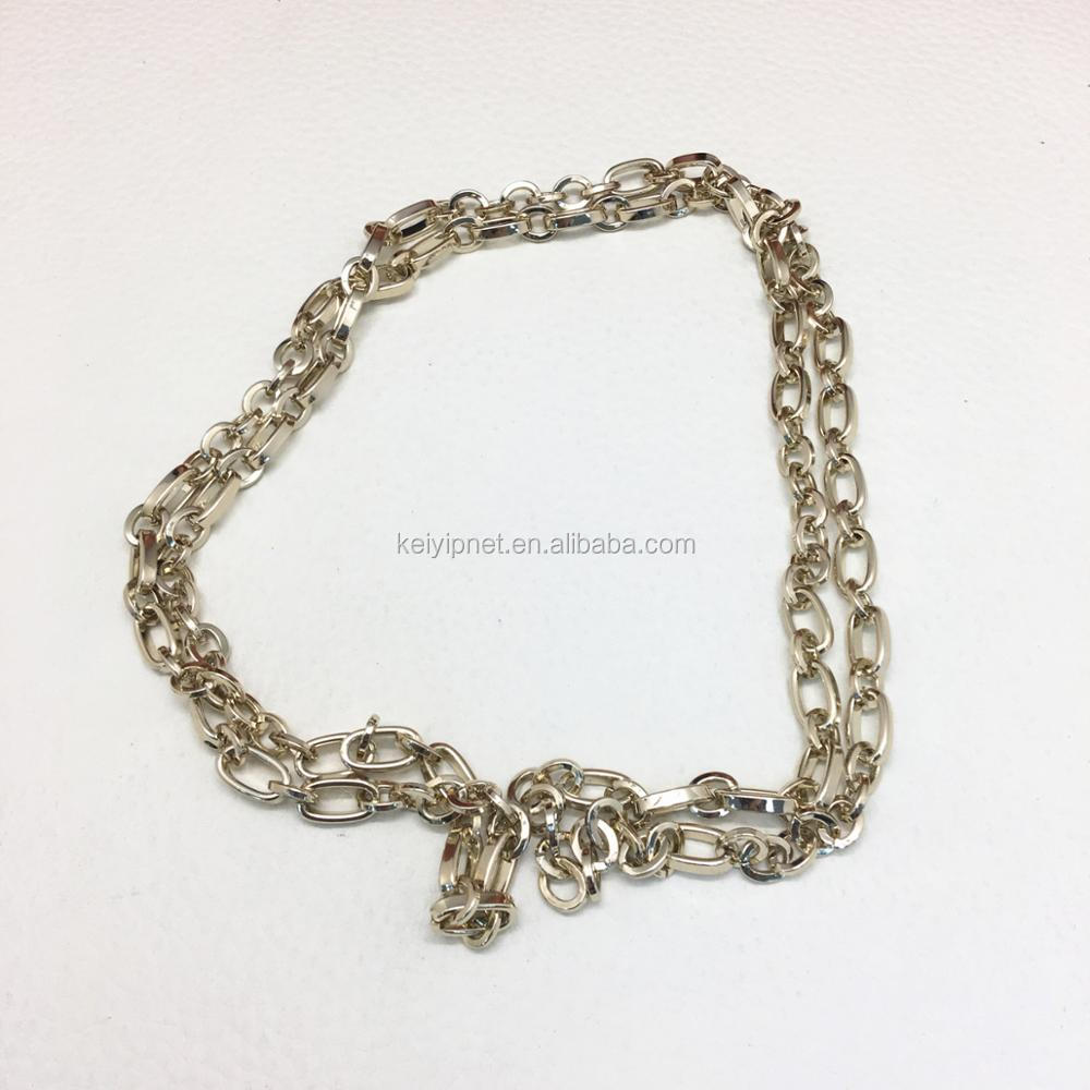 Wholesale High Quality bag accessories metal chain for bags