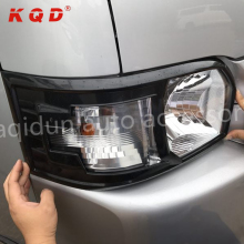 New arrival ABS plastic head lamp cover for toyota hiace 2015