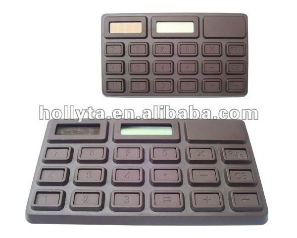Sweet Smell Chocolate Calculator 8 Digits Solar Calculator