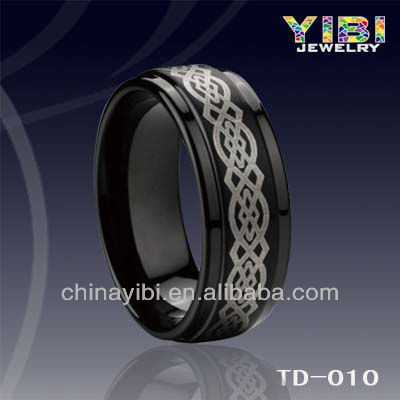 Simple Cheap Tungsten Gift Ring, YIBI Jewelry