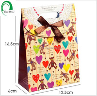 Printed Shopping Paper Gift Bag