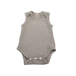 Shenzhen Competitive Price 100% Organic Cotton Sleeveless Spring Autumn Clothing For Baby Girls