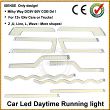 12V Auto LED Lamp Car Daytime Running Lights DRL For Hyundai I20 2012 2013 flexible led drl lamp