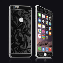 Full screen 3D diamond tempered glass protector for iPhone 6S Plus