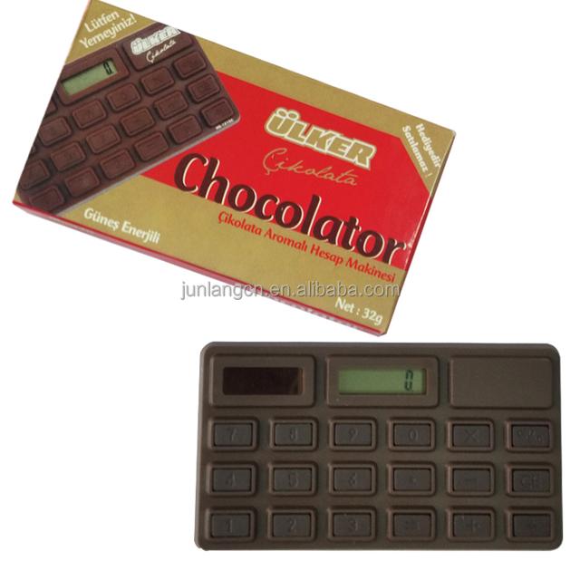 8 Digit smell of chocolate calculator pocket calculator promotion gift calculator