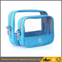 customized pvc waterproof stand up slide zipper various clear waterproof safari suit pouch pvc cosmetic zip lock plastic pouch