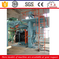 CE Approved Y Shape Rail Hanger Type Shot Blaster/Shot Blasting Machine/Equipment Manufacturer
