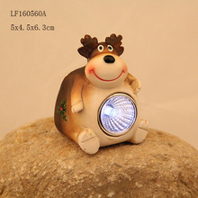 2018 new sculpture christmas led light,quanzhou factory resin deer for indoor christmas decoration light
