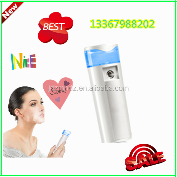 Women Facial Mist Sprayer Facial Steamer Pores Tools Easy to Cleansing Mister Beauty Hydrating Water Portable Spray Device