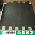 Super matte PH-INK and Brushed Oak Solid Wood Flooring